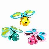 Blesiya Wind up Aufziehspielzeug Uhrwerk Kinder Spielzeug Sammlerstücke Geschenk - Schmetterling