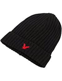 Lyle & Scott Heritage 80% Wool/20% Polymide Beanie Hat With Turnup