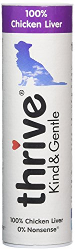 Thrive Hund KIND & GENTLE 100% Geflügelleber Snacks (4-er Pack)