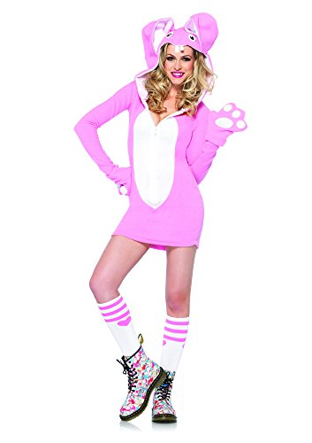 Leg Avenue 85308 - Cozy Bunny Kostüm, Größe L, rosa