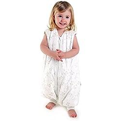 Saco de Dormir con Pies de Verano para Niño Slumbersac aprox. 1 Tog - Oso - 24-36 meses