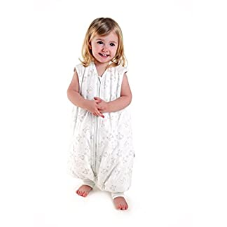 Saco de Dormir con Pies de Verano para Bebé Slumbersac aprox. 0.5 Tog – Oso – disponible en 5 tallas