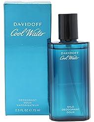 Davidoff Cool Water, homme/man, Deo Spray, 1er Pack (1 x 75 ml)