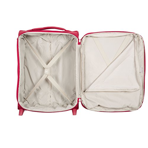 DELSEY AIR ADVENTURE SOFT2 Koffer, 54 cm, 42 liters, Rot (Rouge) - 2