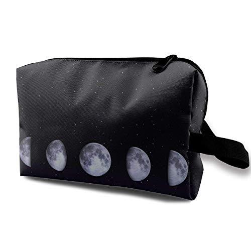 Travel Hanging Cosmetic Bags Magical Workings Total Lunar Eclipse Multi-functional Toiletry Makeup Organizer -