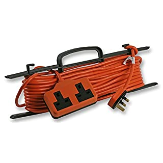 Heavy Duty 15m Extension Lead with 2 Gang Socket for Large Displays