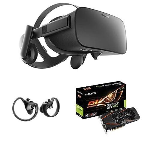 Pack Oculus Rift + Oculus Touch + Carte Graphique Gigabyte GeForce GTX 1060 G1 Gaming 6G
