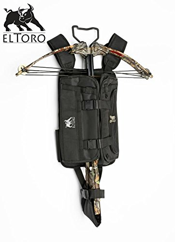 elToro Tragesystem für Armbrüste in schwarz mit vielen Taschen