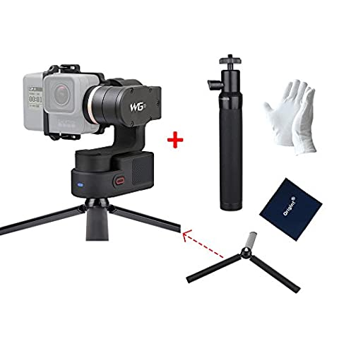 FeiyuTech WG2 WaterProof Wearable Gimbal for GoPro Hero5 / 4 / Session and Similar Dimensions Action Camera + 1 pcs of