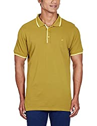 Kenneth Cole Reaction Mens Polo (4100418400174_KCRFW15PL03_X-Large_Olive)