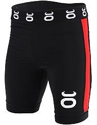 Tenacity MMA Vale Tudo Largo Shorts De Artes Marciales - Negro - X-Large