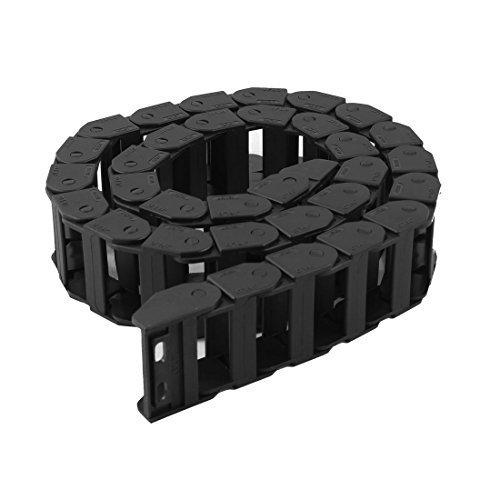 106cm long câble noir fil Transporteur Drag chaîne gigognes 18mm x 37mm