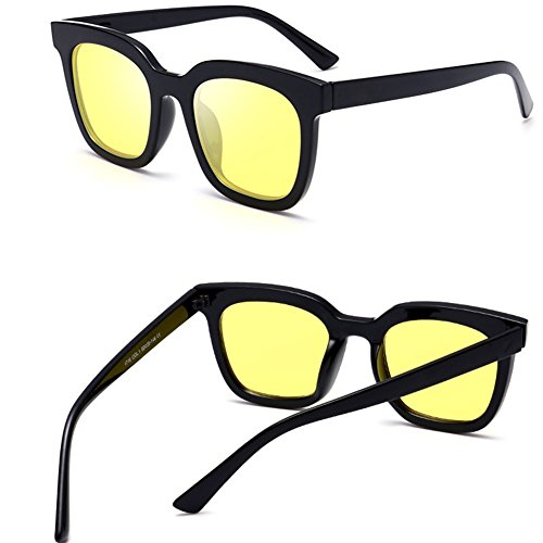 Polarizedstylesunglassescategory UV400 Schutzgläser Für Damen,Yellow
