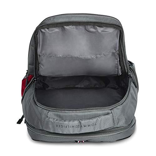 Tommy Hilfiger Alps 29 Ltrs Grey Laptop Backpack (TH/ALPSLAP07) Image 6