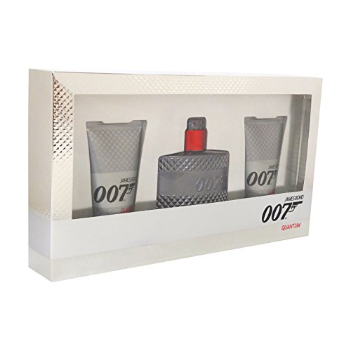 James Bond 007 Quantum Confezione Regalo 50ml EDT + 2 x 50ml Gel Doccia