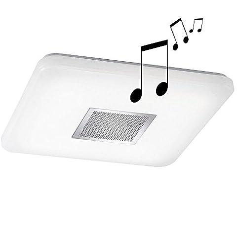 LED Decken Lampe Bluetooth Lautsprecher Beleuchtung CCT Schaltung Leuchte weiß