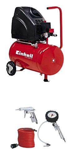 Gemeinsame Einhell Kompressor TH-AC 200/24 OF (1,1 kW, 24 L, Ansaugleistung #NK_23