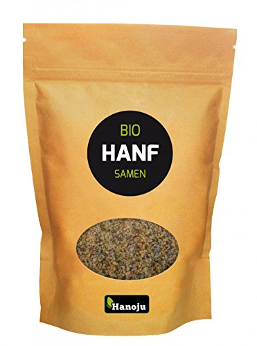 Hanoju Bio Hanf Samen geschält im Paperbag (500g) -
