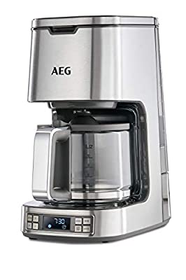 AEG 7 Series Digital Filter Coffee Machine, 1100 W - Stainless Steel by Electrolux