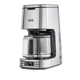 AEG 7 Series Digital Filter Coffee Machine, 1100 W - Stainless Steel