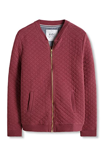 edc by ESPRIT Damen Jacke, Rot (Bordeaux Red 600) - 3