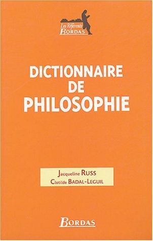 DICT.DE PHILOSOPHIE