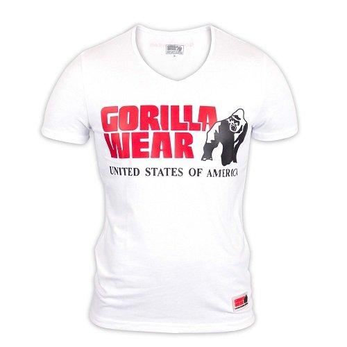 gorilla-wear-utah-v-neck-t-shirt-white-xl