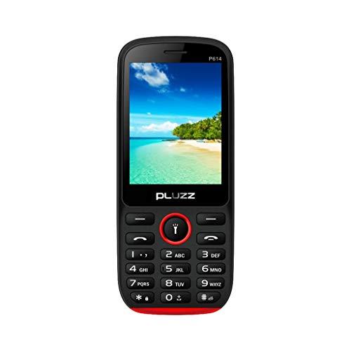 Fulltime E-Gadget 2,8 Zoll Alte Mann Maschine, Funktionale Telefonkamera FM Dual SIM-Karte großer Lautsprecher Handy (Schwarz)
