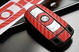 3 Tasten Schlüssel Folie für Ihren Schlüssel aus 3D Carbon von Wizuals©