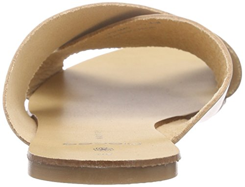 beige Pantoletten Psjama Beige Sandal Leather Pieces Damen 68PxCwOqx