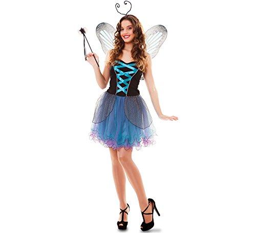 Fairy Kostüm Dress Fancy - Fyasa 706557-t04Butterfly Fairy Fancy Dress Kostüm, blau, groß