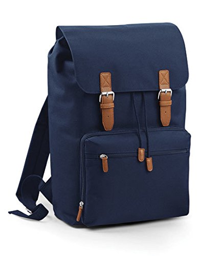 BagBase-Vintage-Laptop-Backpack-30-x-46-x-17-cm-French-Navy