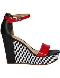 Tommy Hilfiger FW0FW01706 Zapatos De Cuña Mujer 40