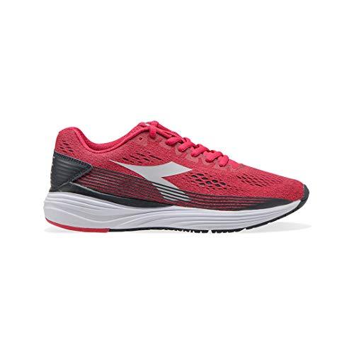 Diadora Kurura 3 W - Scarpe da Corsa, Running, Atletica, Scarpe da Donna 173384_C7860, Virtual Pink/White, Rosso, 37