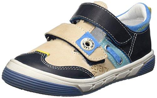CatiminiChicoree - Sandali con punta chiusa Bambino , Blu (Bleu (12 Vtc Bleu/Beige Dpf/Sirio)), 32