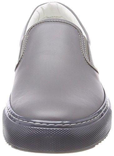 HUGO Damen Greenwich Slip On Sneaker Grau (Medium Grey 036)