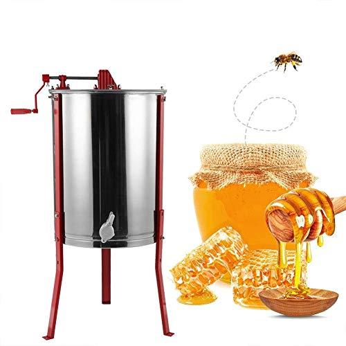 Produktbild TUDIO Manuelle Honigschleuder 4 Rahmen Waben Honig Edelstahl Imkerei Schleuder