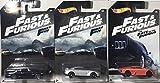 3 Modelos Coche Cars DieCast Fast & Furious 1/64 6cm Original Hot...