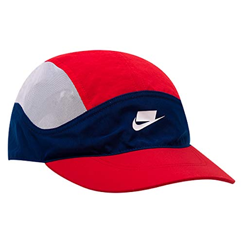 Imagen de nike u nsw tlwnd cap check , unisex adulto, blue void/university red, talla única
