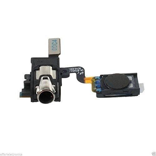 Flat Flex speaker altoparlante superiore auricolare ascolto voce chiamate +porta jack cuffie audio headset per Samsung Galaxy NOTE 3 NEO SM-N7505 7505
