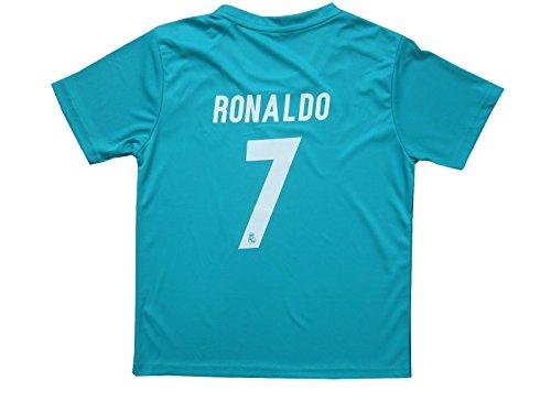 2017 2018 Cristiano Ronaldo   7 Real Madrid 3rd Kit Children s ... 4527267f5