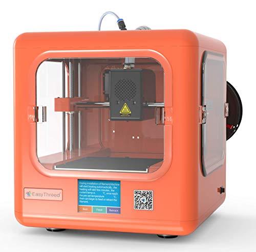 EasyThreed 3D Drucker | Dora| druckt autark, ohne PC (Orange) - 2