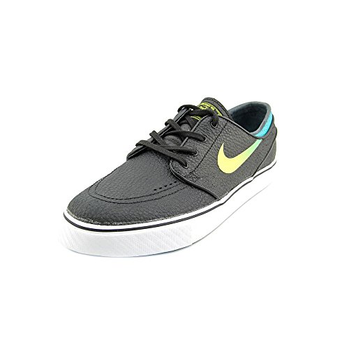 NIKE  Zoom Stefan Janoski, Chaussures de skateboard homme black/vnm green-trb grn-white