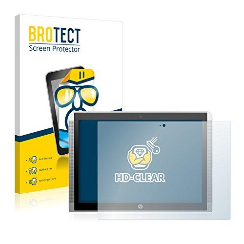 BROTECT Schutzfolie kompatibel mit HP Pavilion x2 12 [2er Pack] klare Bildschirmschutz-Folie