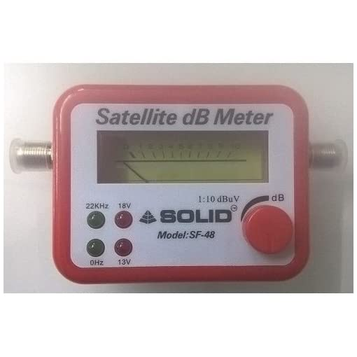 Quantum AS1212154 Satellite Finder for All DTH (Black)