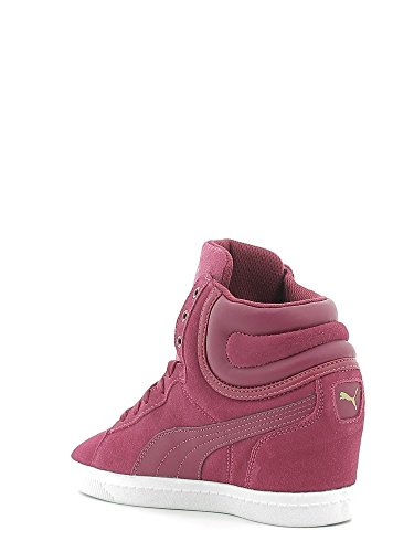 Puma Vikky Wedge Sneaker Red Plum/Red purple