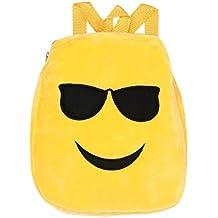 Cute Emoji emoticono bolsa de hombro, Niño Escuela bolso mochila bolsa mochila bolso por Morwind (C)