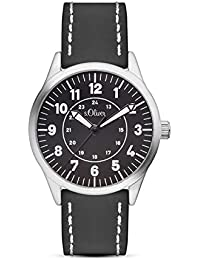 s.Oliver Jungen-Armbanduhr Analog Quarz Plastik SO-3111-PQ