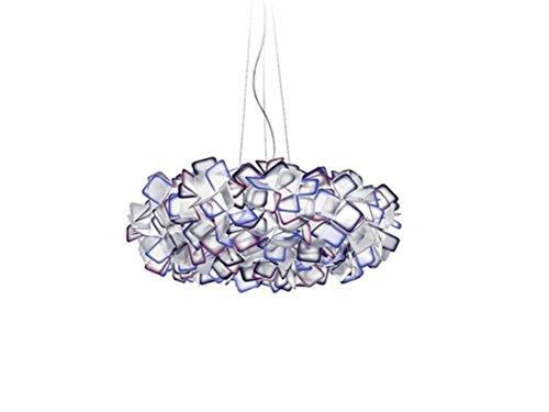 Ventura Juwel (XXFFH® Pendelleuchten Runde Kronleuchter Deckenleuchten Dual-Use-Lichter modern einfach LED Wohnzimmer Restaurant Lichter 25 * 53cm purple)