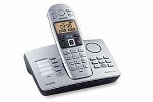 Siemens Gigaset E365, Komfortables Schnurlostelefon mit großen Tasten, beleuchtetem Display mit extra großer Schrift und integriertem Anrufbeantworter